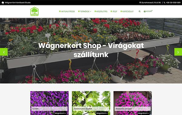 Wágner Kert - Kertészeti Áruda